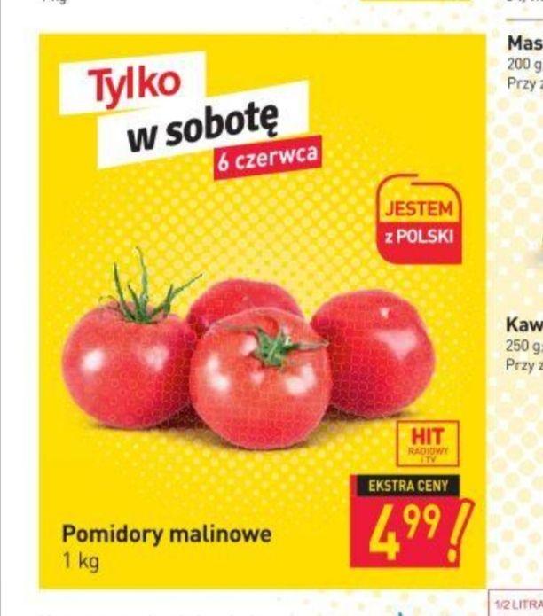 Stokrotka pomidor malinowy polski 4.99