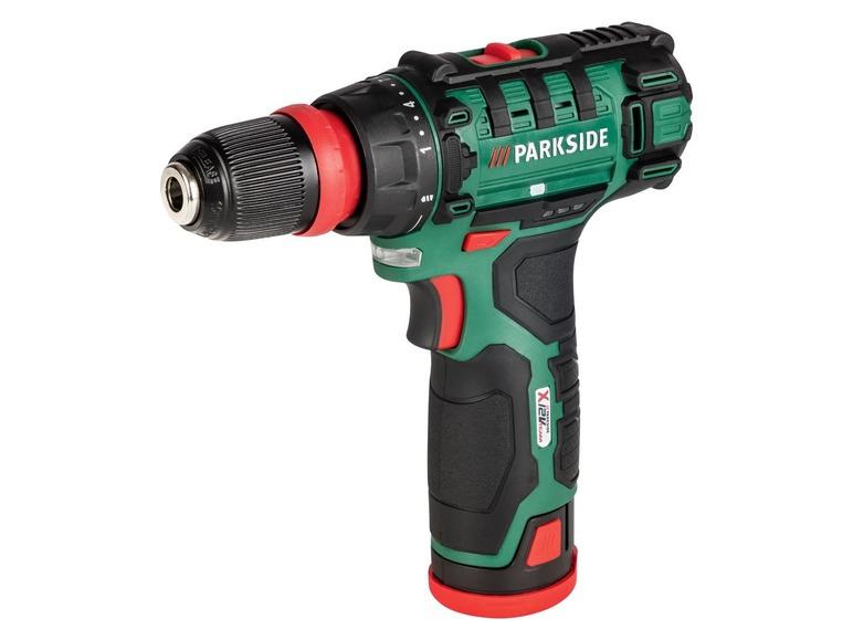 PARKSIDE® Akumulatorowa wiertarkowkrętarka PBSA 12 D2 z akumulatorem i ładowarką