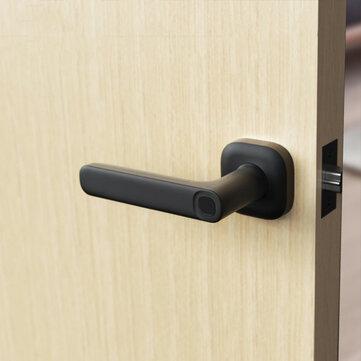 Klamka z blokadą drzwi działająca na odcisk palca oraz przez aplikację