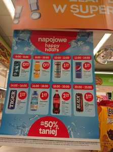 Napojowe Happy Hours - Żabka