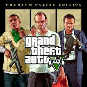 Grand Theft Auto V Premium Online Ed. w PS Store