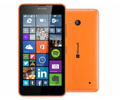 Microsoft Lumia 640 Dual SIM pomarańczowy @x kom