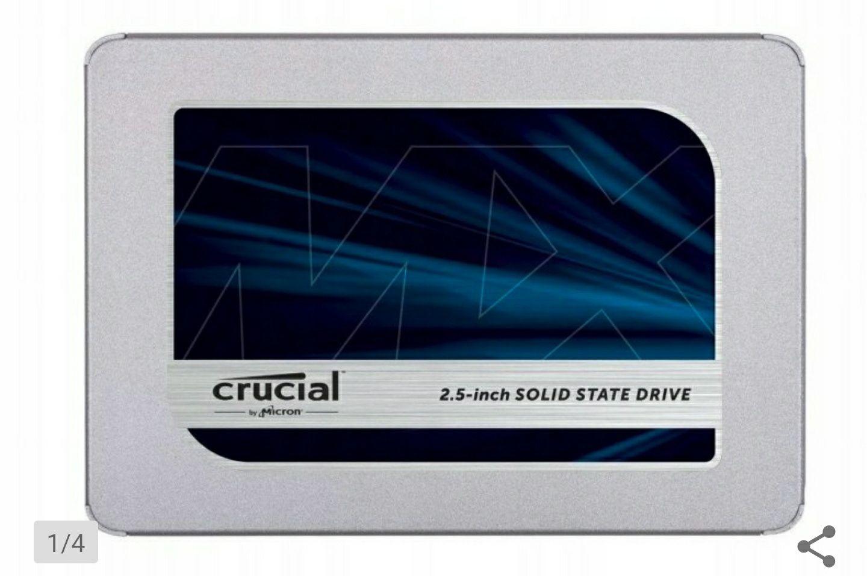 """Dysk Crucial 1TB 2,5"""" SATA SSD MX500"""