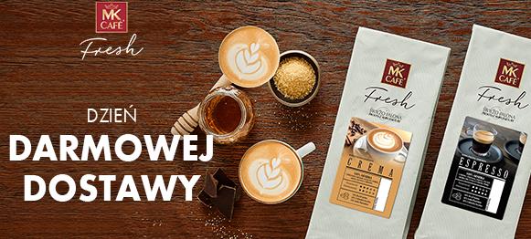 MK CAFE FRESH tylko dziś darmowa dostawa z kodami