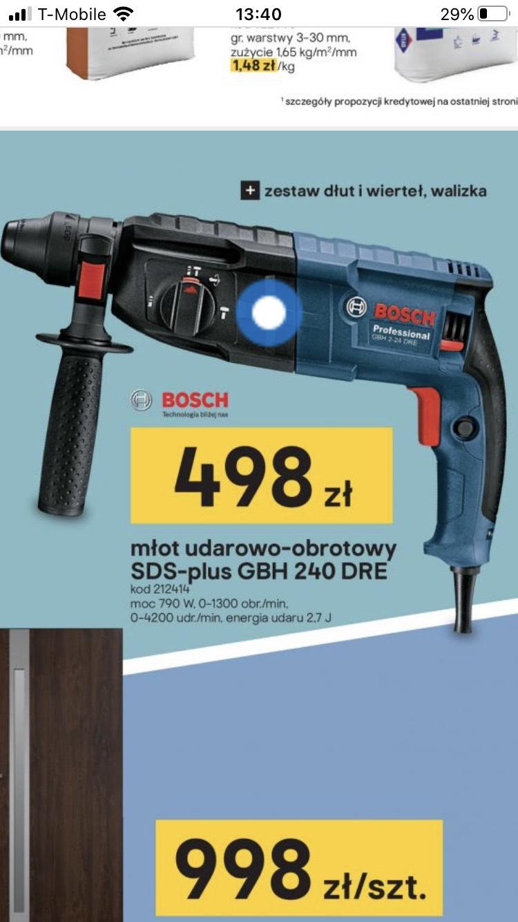 Młot udarowy Bosch poniżej 500 PLN