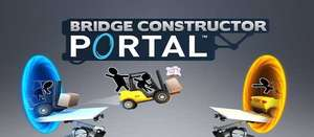 Portal bridge constructor IOS Apple Games