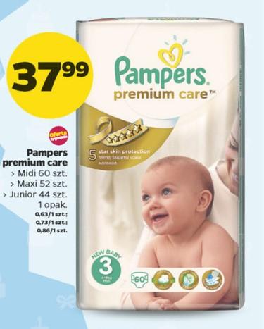 Pieluszki Pampers Premium Care za 37,99zł @ Netto