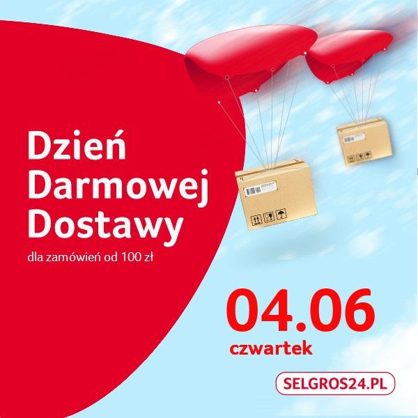 Darmowa dostawa w Selgros24.pl!