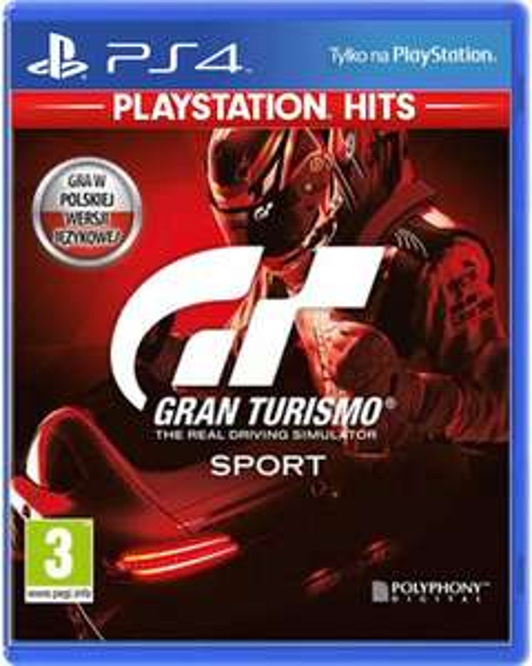 Gran Turismo Sport PL PS4 box ze scentre.pl