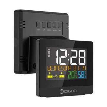 Stacja pogody + kalendarz + zegar DIGOO DG-8291