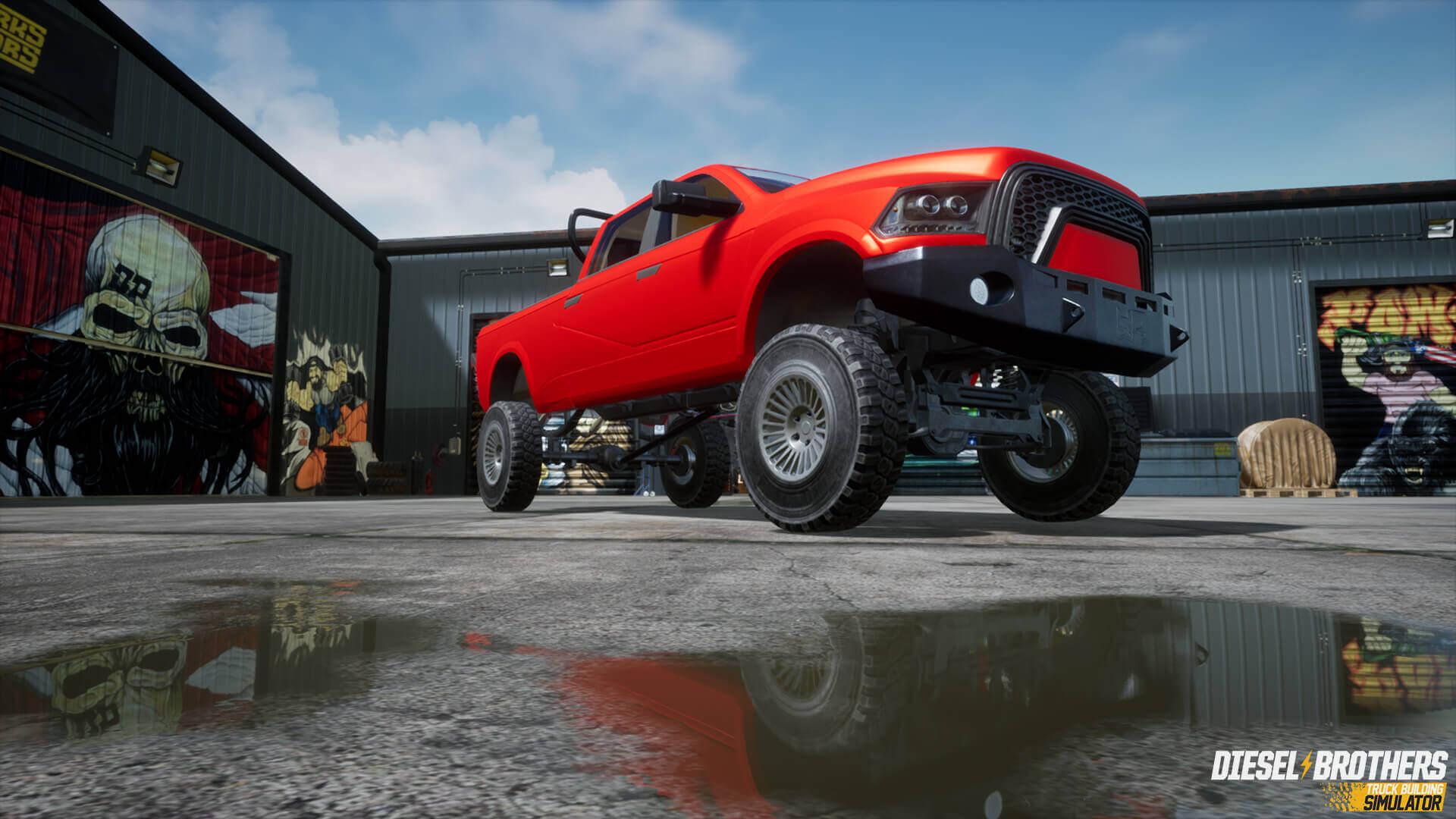 Diesel Brothers: Truck Building Simulator Editor - Za darmo na Epic Store