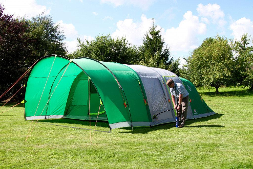 Coleman Valdes 6 gigantyczny (16m2) namiot rodzinny
