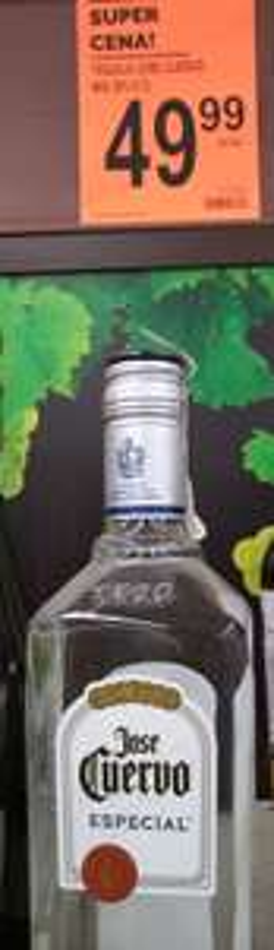 Tequila Jose Cuervo Especial 0.7l w Biedronka Wolin