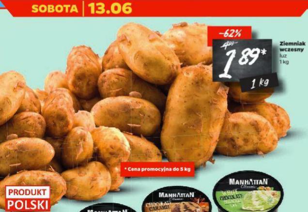 Ziemniaki wczesne 1kg Netto