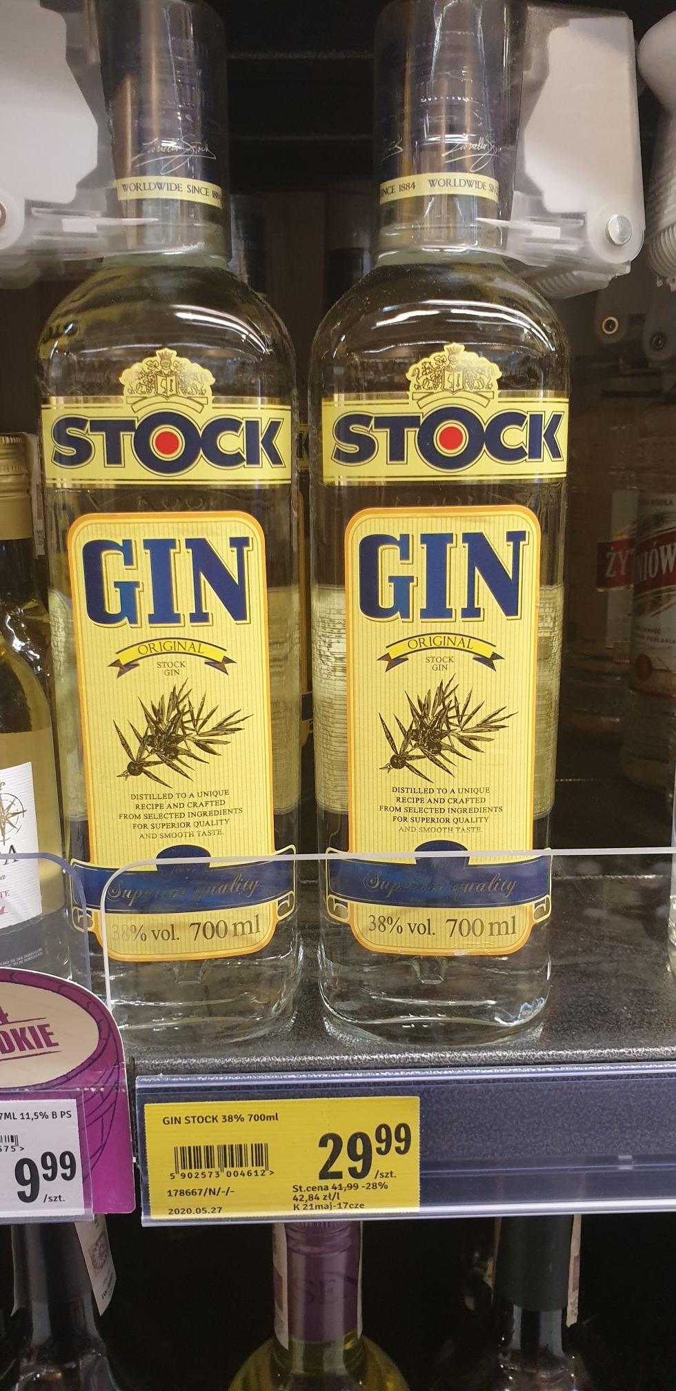 Gin Stock 0.7l Stokrotka