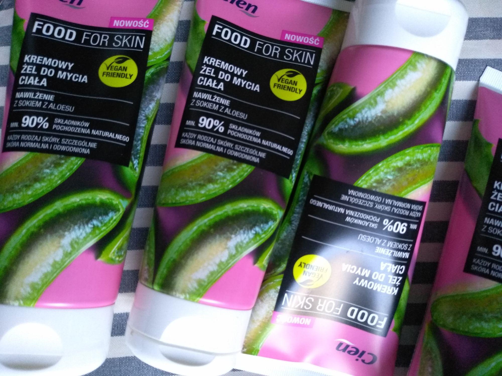 Żel pod prysznic 200ml Cien Food for skin aloesowy Lidl