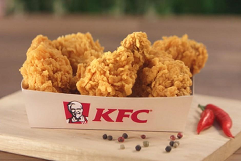 KFC kod na 5 wingsów w dostawie