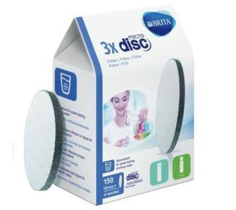 Wkłady filtrujące Brita MicroDisc do Fill & Go 3 szt., o/os 0zł