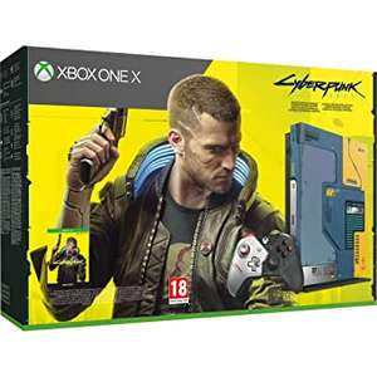 Konsola Xbox One X Cyberpunk 2077 Limited Edition