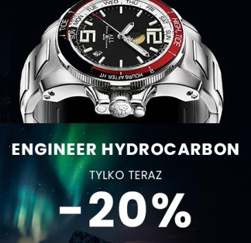 20% rabatu na zegarki Ball Engineer Hydrocarbon @ Zegarownia