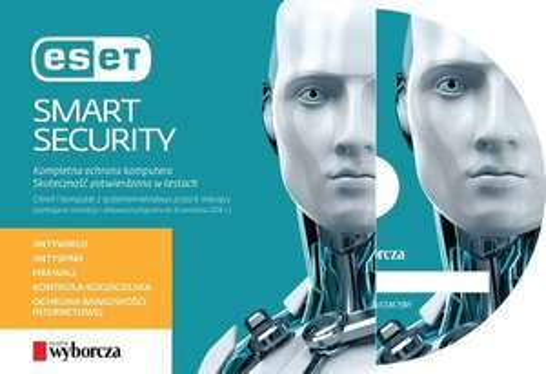 ESET Smart Security (licencja na 6 miesięcy) za 9,99PLN @ Gazeta Wyborcza