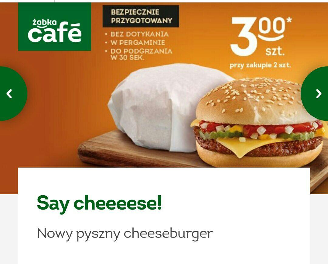 Żabka, burger dla wszystkich ponownie za 3zl przy zakupie 2 sztuk