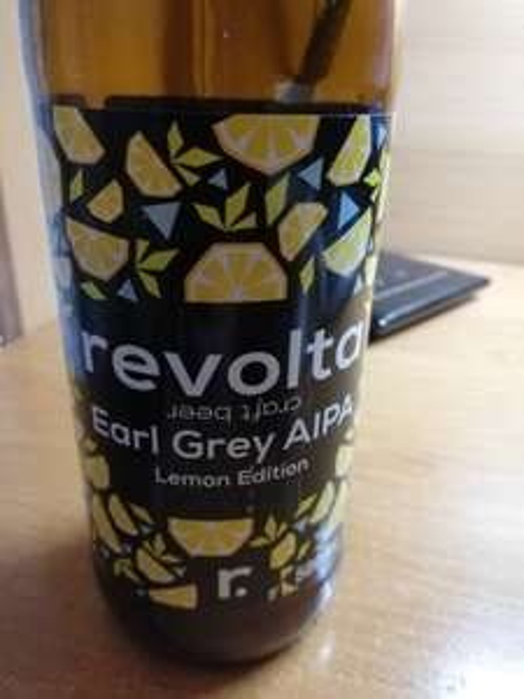 Piwo Revolta Earl Grey Aipa Lemon Lidl