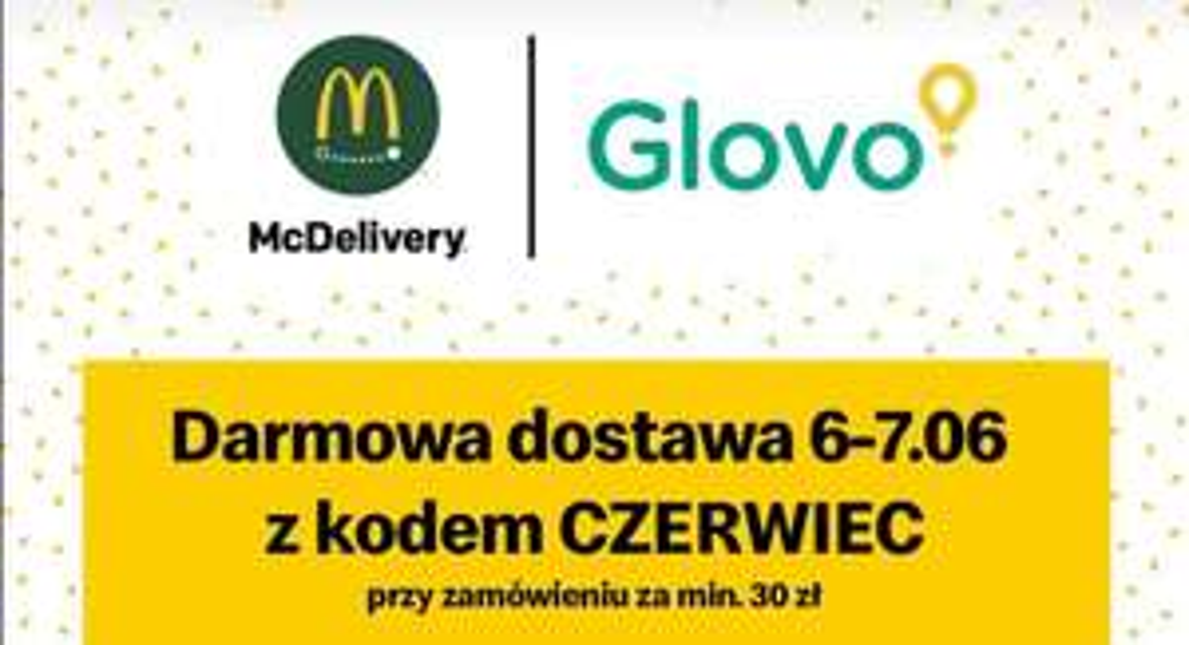 """Darmowa dostawa Mc Donald's - min. 30zl kod """"CZERWIEC"""" + zestaw Dla Twojej drużyny - 44zl"""