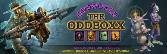 Oddworld The Oddbox - 4 gry z serii 75% taniej @ Steam