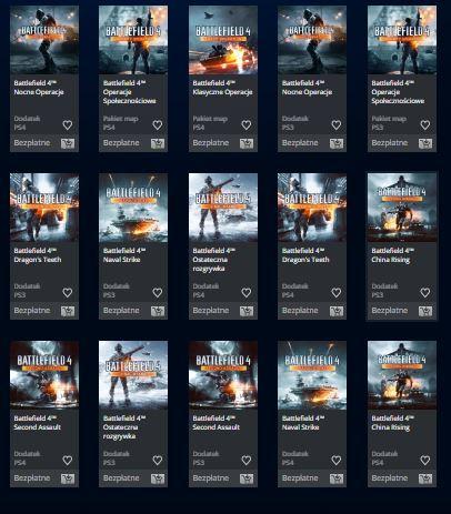 Dodatki do Battlefield 4 [Playstation 3/4] za darmo! @ PSStore