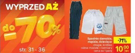 Wyprzedaż do -70% tekstylia oraz art. przemysłowe i inne - Carrefour