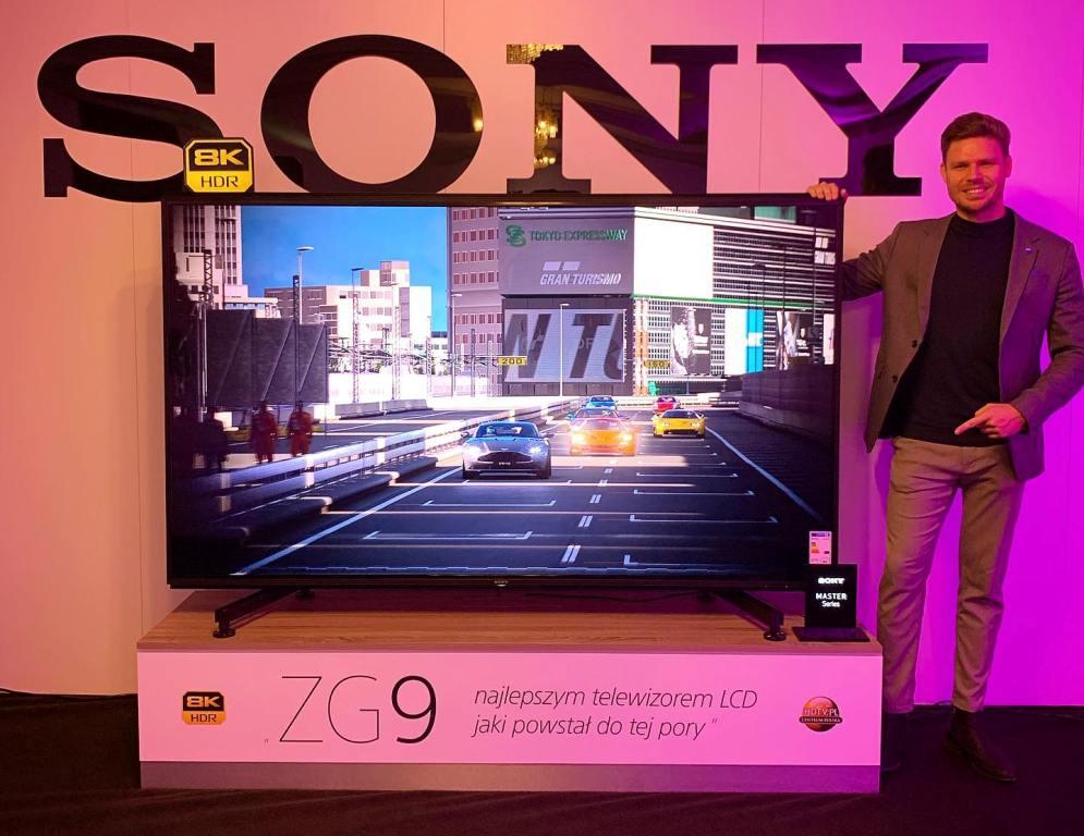 Najlepszy telewizor na świecie? Gigantyczny Sony 8K 3600.