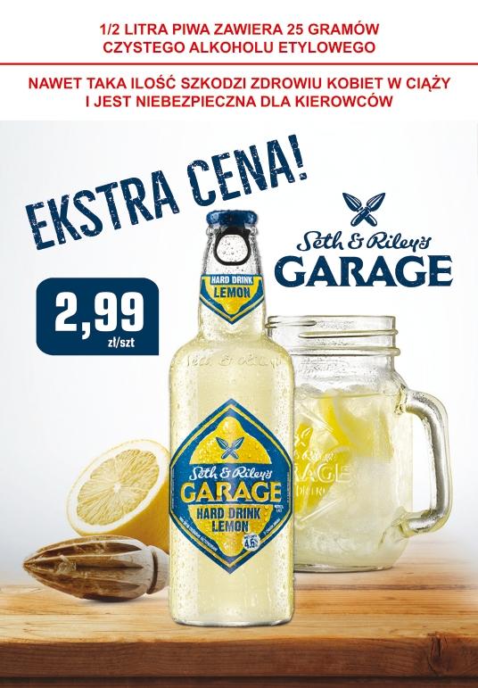 Piwo Garage w super cenie Stacje Paliw Crab