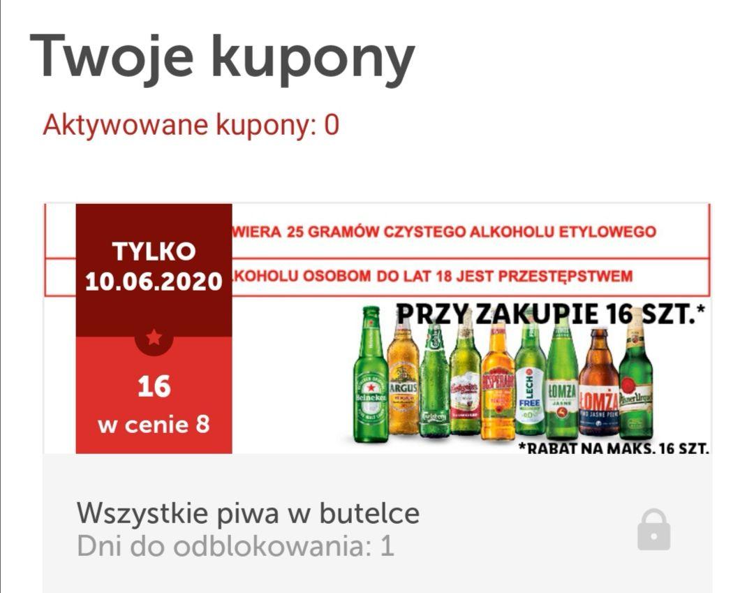 Lidl: 16 piw w cenie 8