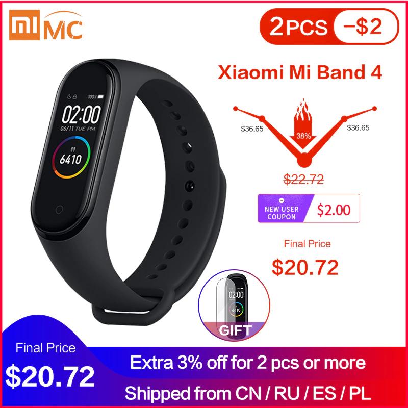 Xiaomi Mi Band 4 wersja CN z dostawą z Chin