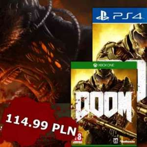 DOOM na PS4/XBOX ONE