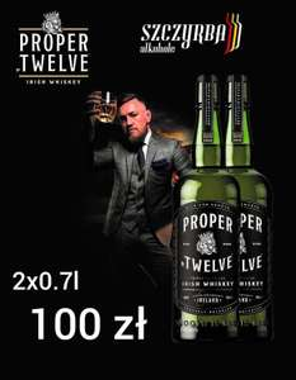 Proper Twelve Irish Whiskey Blend - irlandzka whisky blendowana