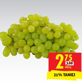#Biedronka: winogrona bezpestkowe