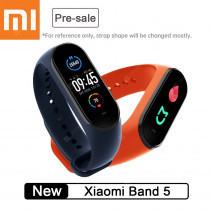 "Opaska Xiaomi Mi Band 5 - czarna (1,2"" ekran, monitor snu) @ Gearbest"