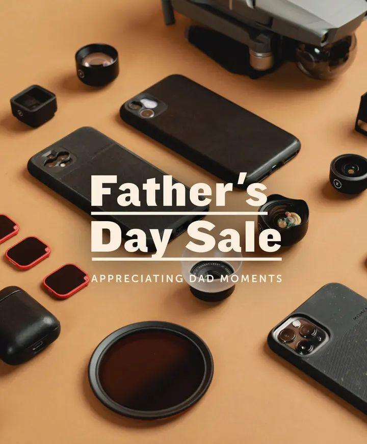 Do 60% rabatu z okazji dnia ojca w sklepie Moment na drony, obiektywy, etui i akcesoria