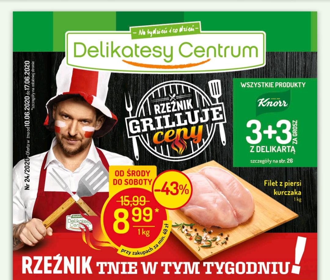 Filet z piersi kurczaka za 8,99 zł / kg Delikatesy Centrum Delikatesy Mila