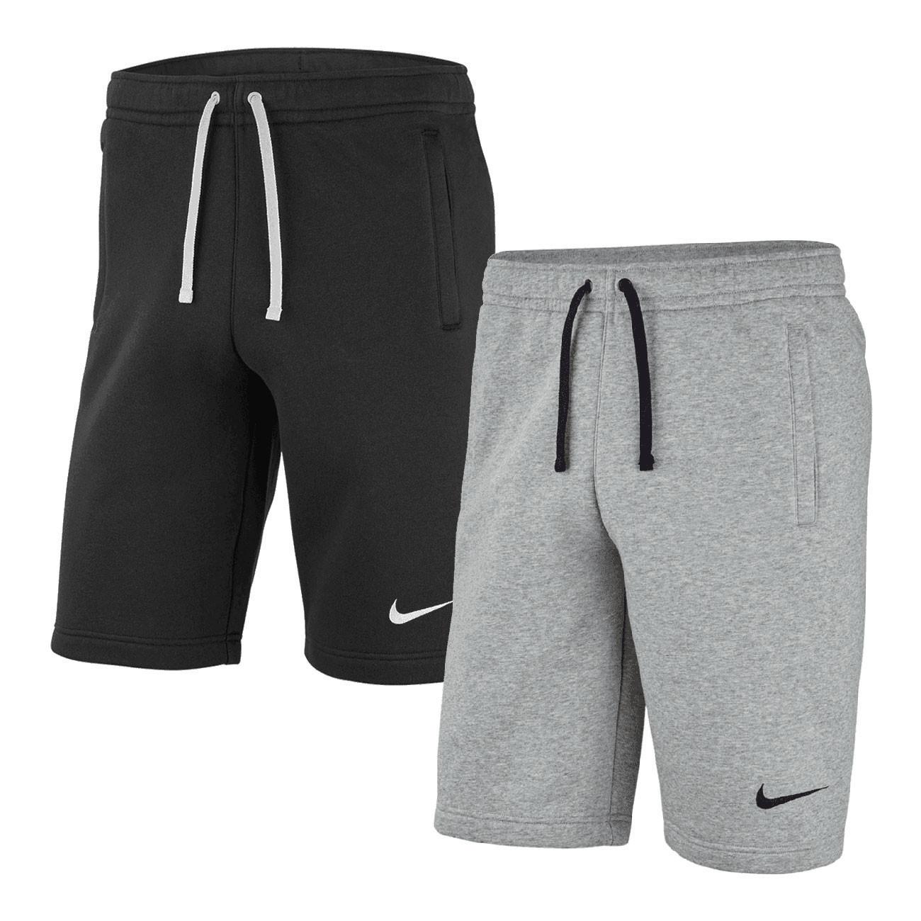 2 pary krótkich spodenek sportowych Nike Fleece Team Club 19 (S-XXXL) z darmową dostawą @ Geomix