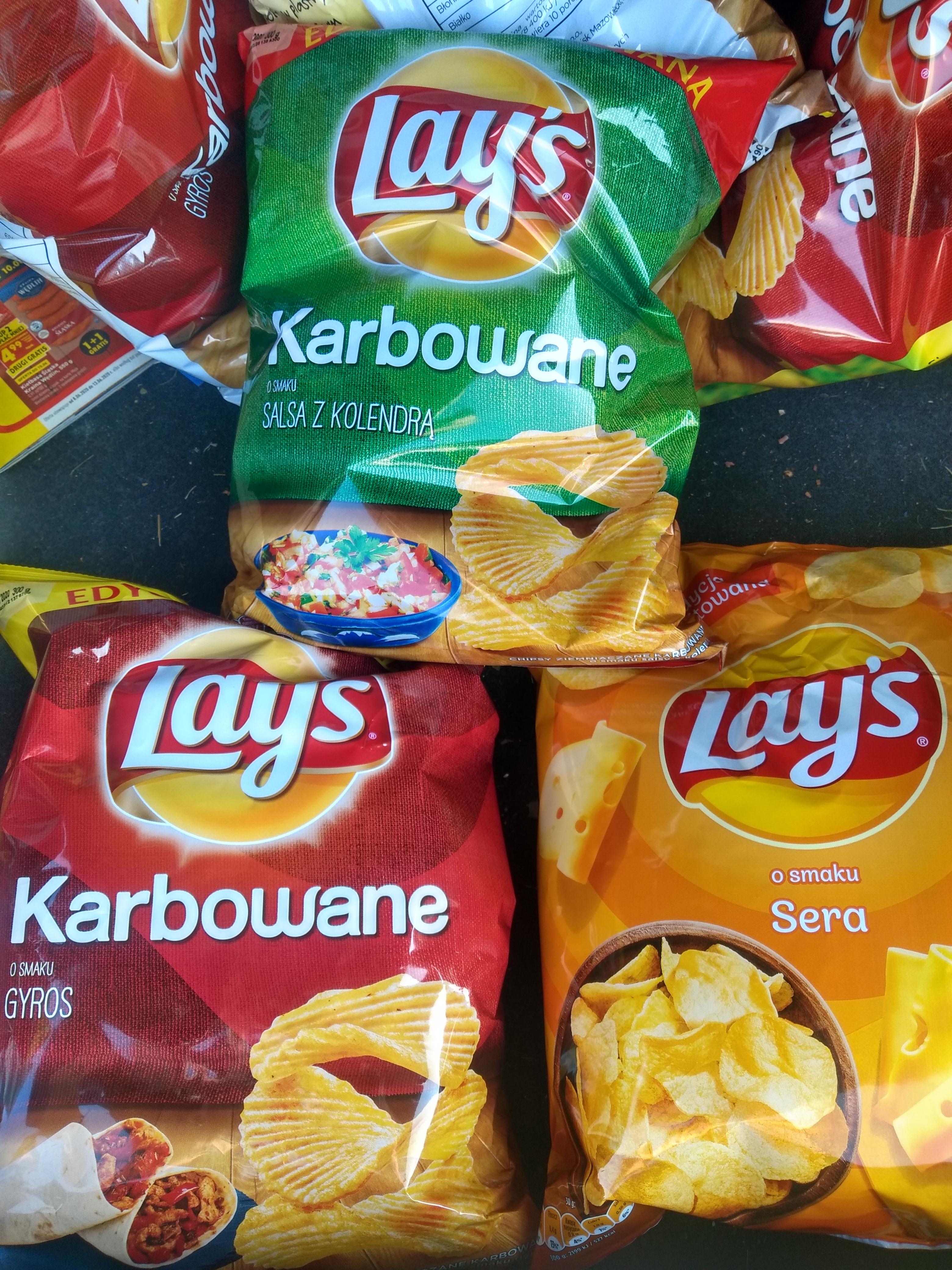 Błąd cenowy Chipsy Lays 300g - Biedronka
