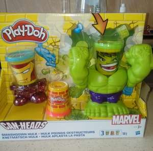 Hulk play doh @ Tesco