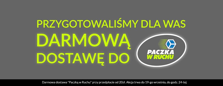 Pantofelek, darmowa dostawa do kiosków ruchu od 20 zł, do 19.09