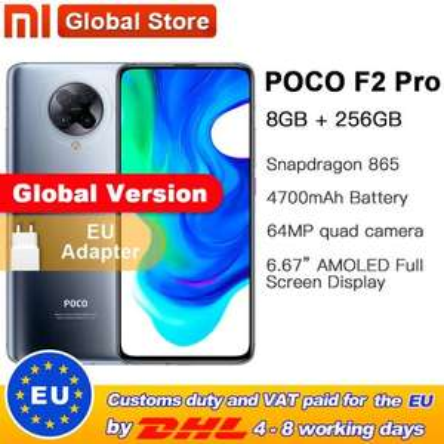 Pocophone F2 Pro 8/256 AliExpress $573.74