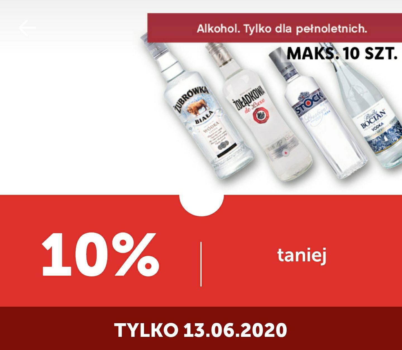 Lidl - wszystkie wódki -10% z kuponem w aplikacji