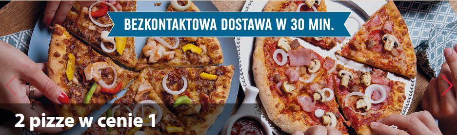 2 pizze w cenie 1 w Domino's
