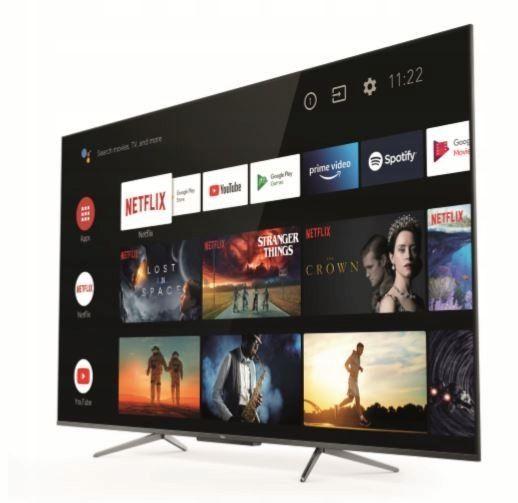 Telewizor TCL 55C715 QLED, Android, Atmos, VA, DIRECT Led, 2400PPI