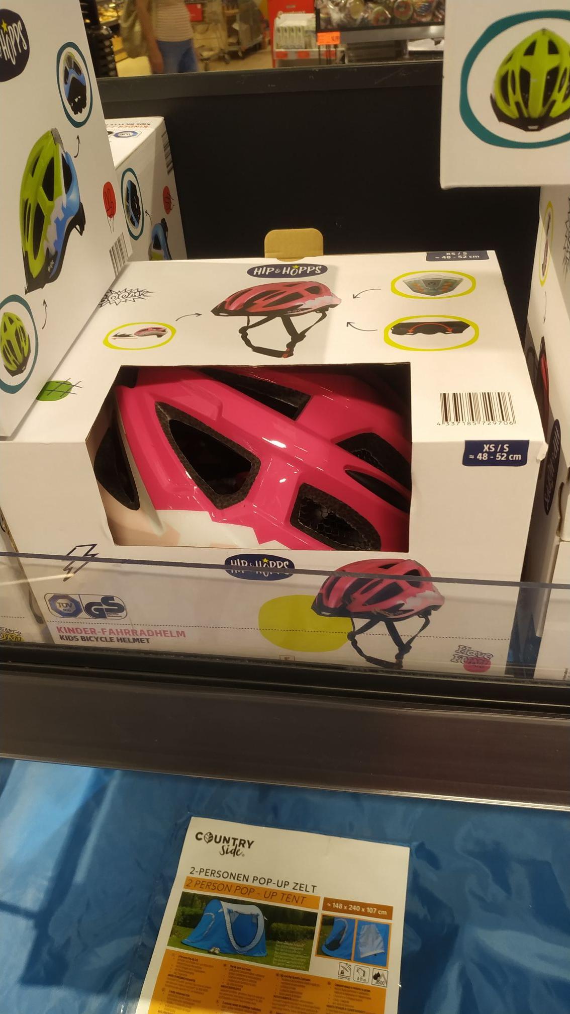 Kaufland Kask rowerowy, łyżwiarski dla dziecka